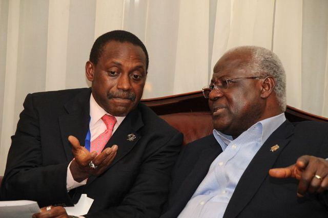 Kandeh Yumkella And President Koroma
